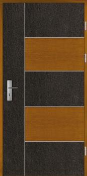 Haustüren Holz BAALBEK Eiche oder Kiefer