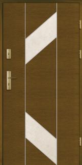Haustüren Holz CARACOL Eiche oder Kiefer