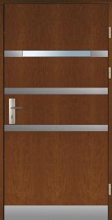 Haustüren Holz LAPONIA Eiche oder Kiefer