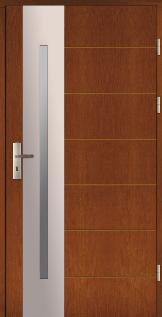 Haustüren Holz NUUK Eiche oder Kiefer
