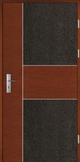 Haustüren Holz POKAINI Eiche oder Kiefer