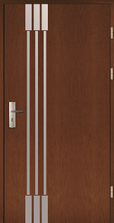 Haustüren Holz SPITSBERGEN Eiche oder Kiefer
