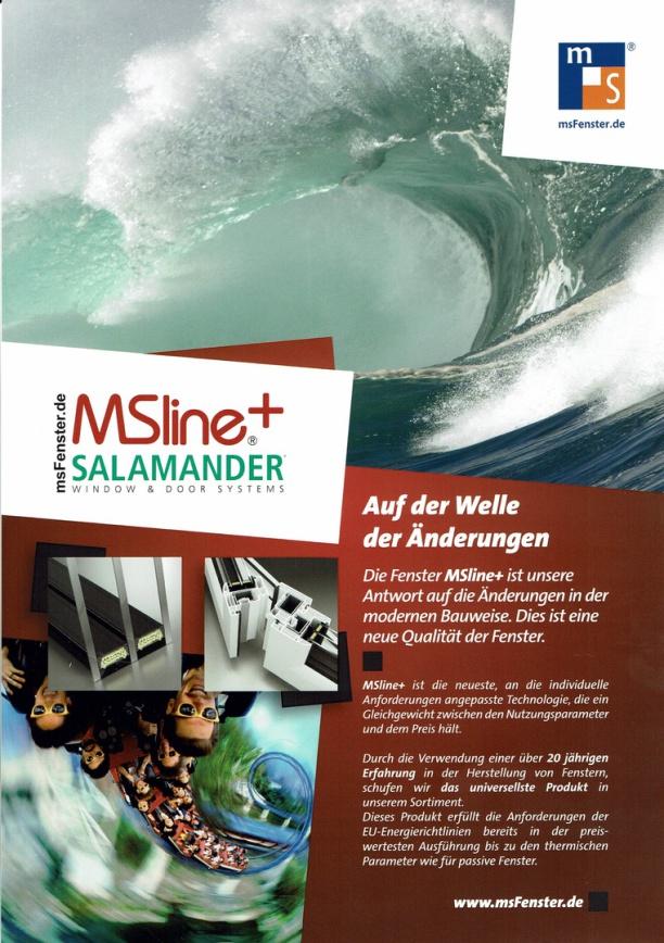 Salamander Fenster MSline+  www.villior-house.de
