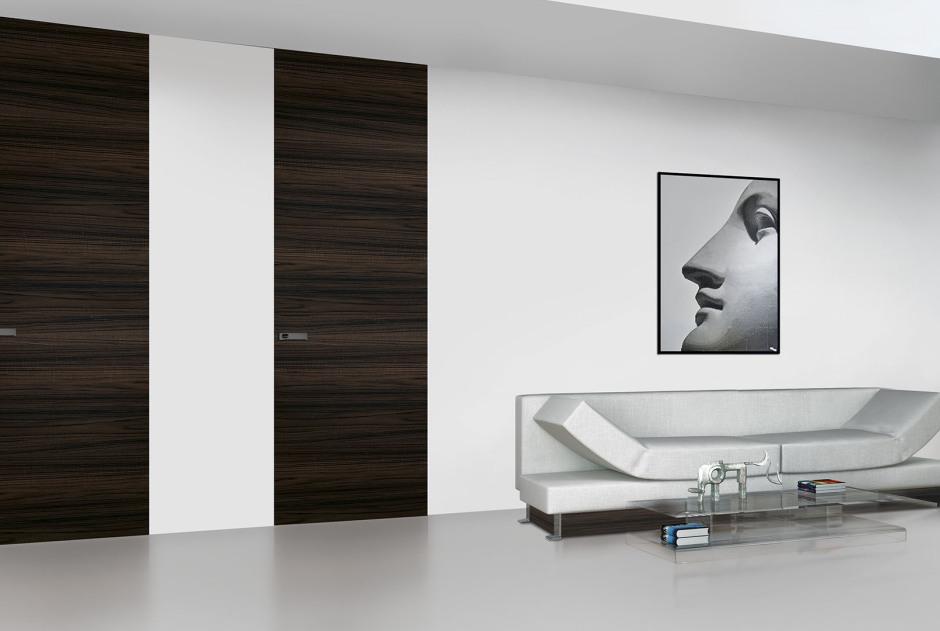 Moderne Türen villior house exklusive zargenlose tapetentüren hochglanztüren